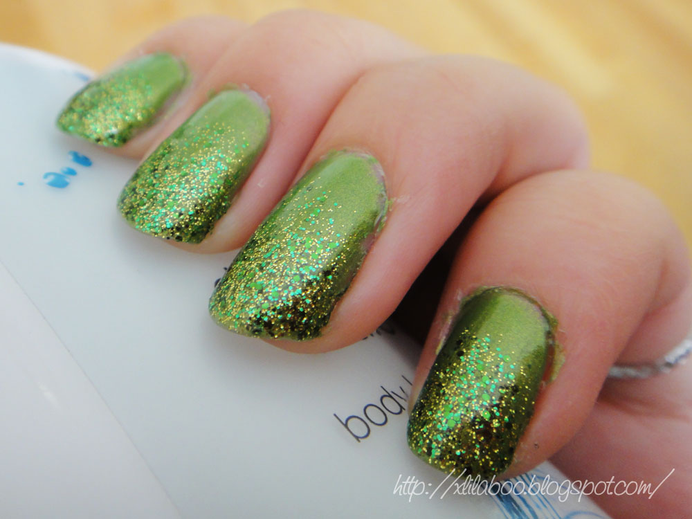 Welcome to my world...: St. Patrick\'s Day Nail