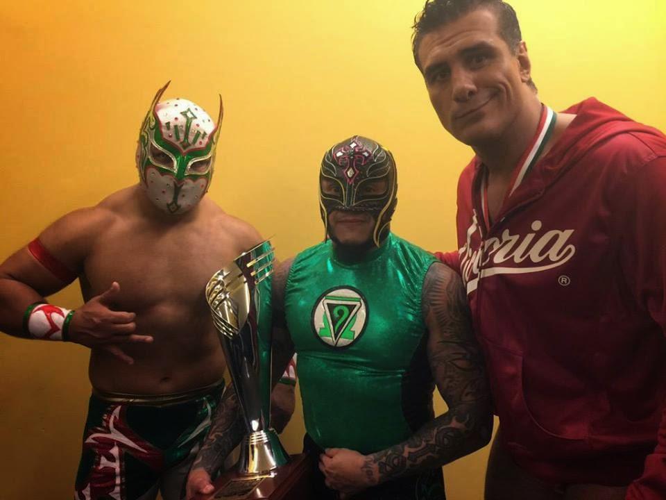 Campeones de la Lucha Libre Mundial