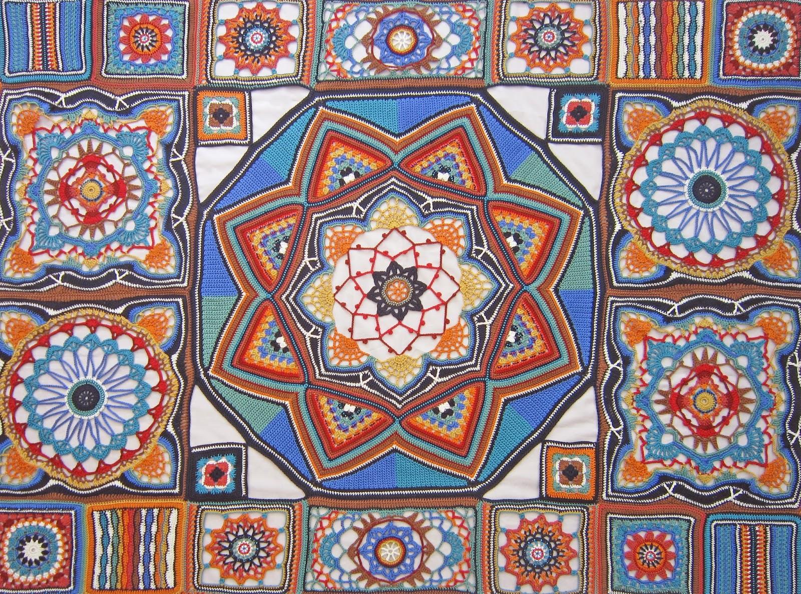 Knit amp Crochet Design Persian Tiles