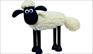 Shaun the Sheep Papercraft by Aardman Animations