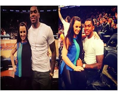 El Receiver de Notre Dame con Lisa Ann en juego de los Knicks