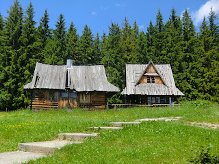 Casas de madera en Butorowy Wierch