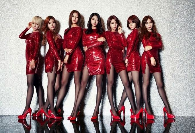 AOA unveil jacket photos for 'Miniskirt' Japanese release