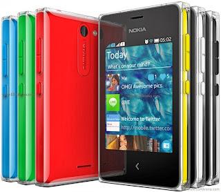 nokia asha 502 Harga Nokia Asha 500, 502, 503 Spesifikasi Lengkap
