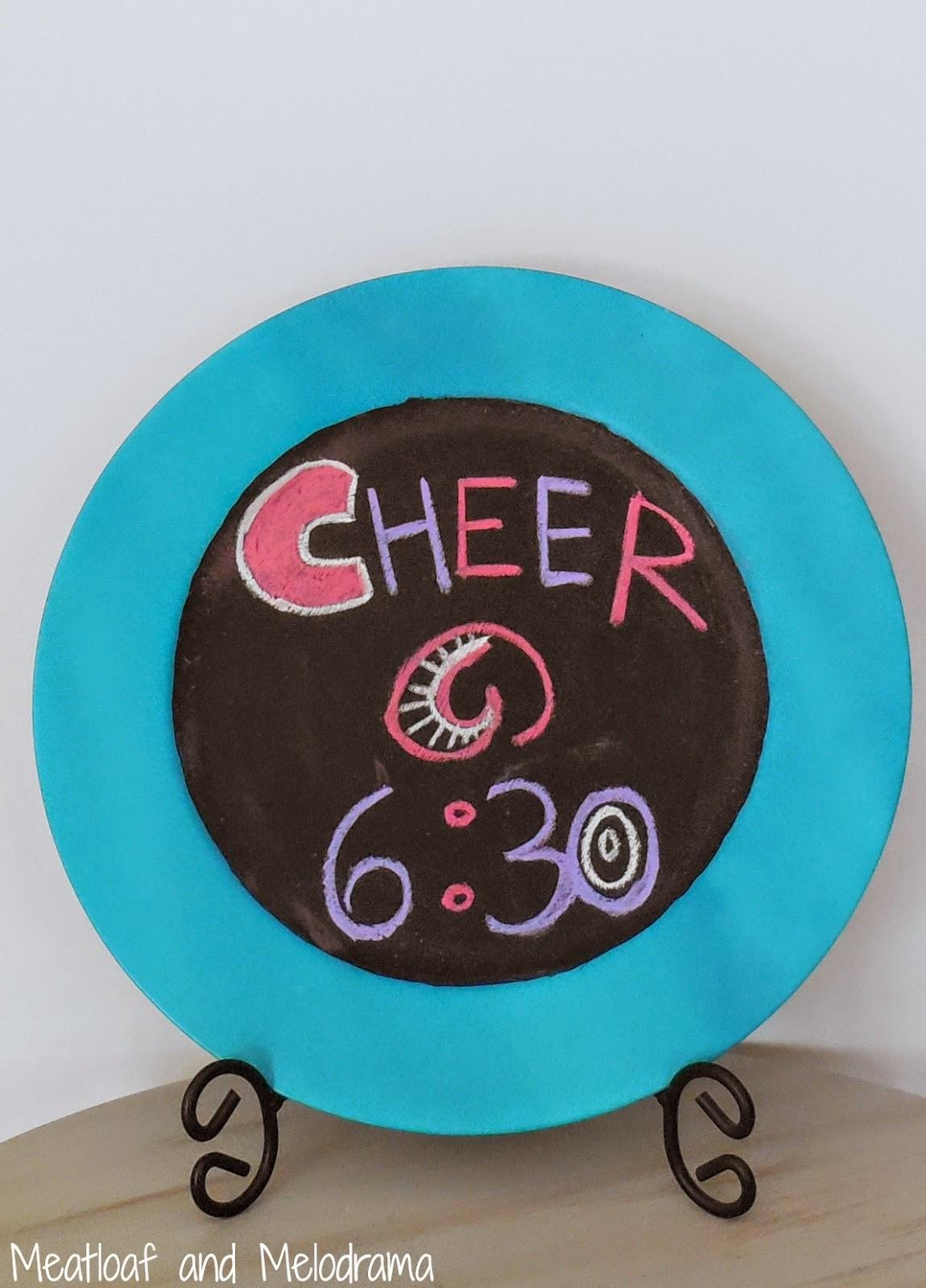Chalkboard Message Board  www.blissfulanddomestic.com