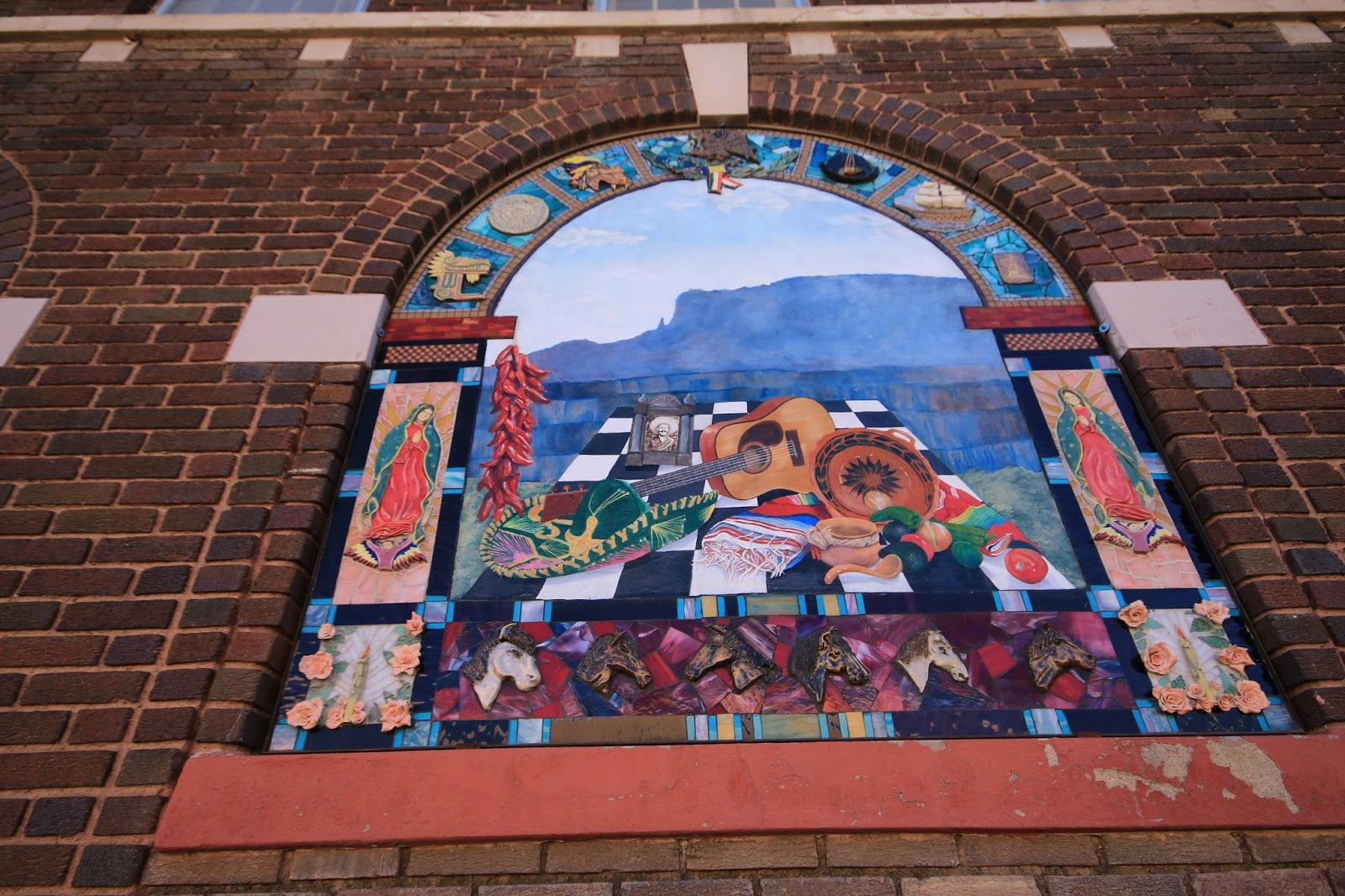 Travels with twinkles silver city new mexico for City mural projects