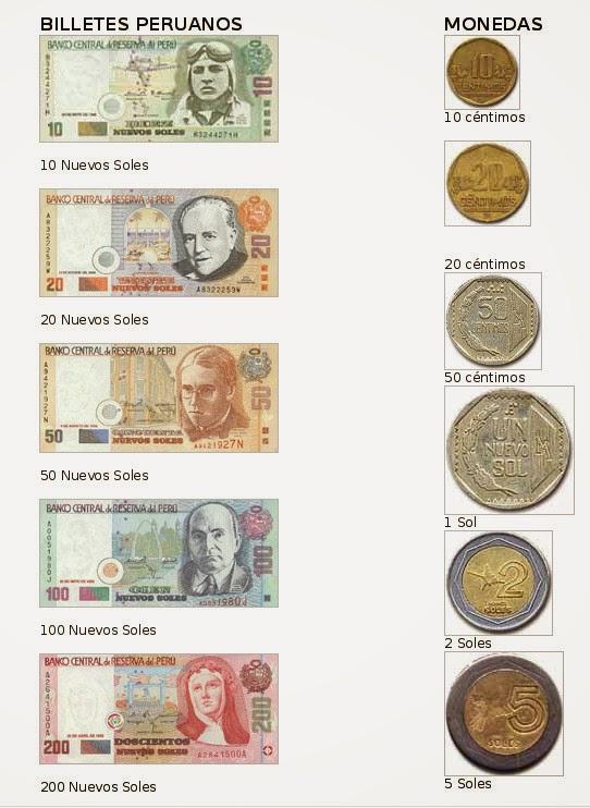 Billetes, monedas peruanas, Perú, La vuelta al mundo de Asun y Ricardo, round the world, mundoporlibre.com
