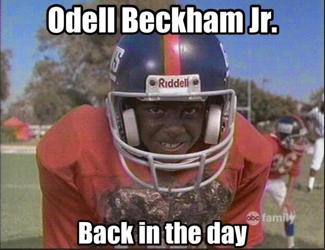 odell beckham jr. back in the day