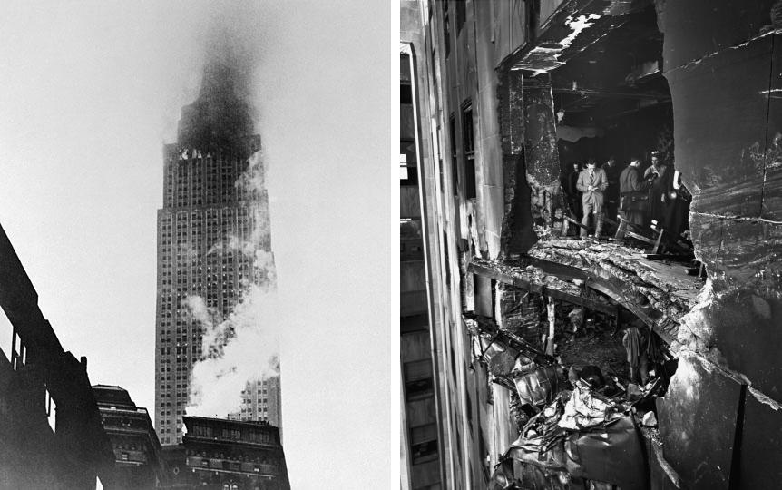 Empire State Building Bomber Crash