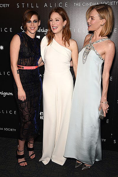 Kristen Stewart, Julianne Moore and Kate Bosworth at the screening