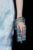 Големи прозрачни гривни Giorgio Armani пролет-лято 2013