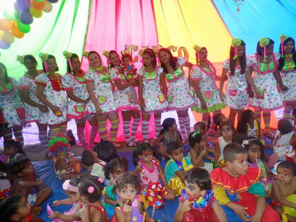 Dia do Circo com muita alegria