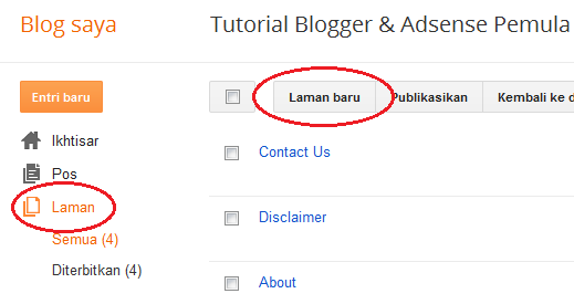 cara membuat layanan contact us blog di 123contactform
