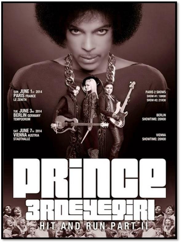 Concert Surprise de Prince Zenith de Paris 1er juin 2014