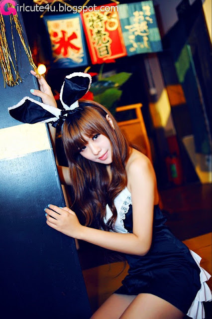 4 Wang Tingyu - Bunny-very cute asian girl-girlcute4u.blogspot.com