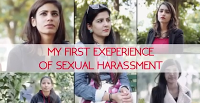 While there is a lot of concern about rape, there is hardly any discussion on the sexual harassment Indian women face in their daily life.  A group of Delhi university women give an idea on the routine ordeal they are subjected to in an Old Delhi Films video: My First Experience of Sexual Harassment.
