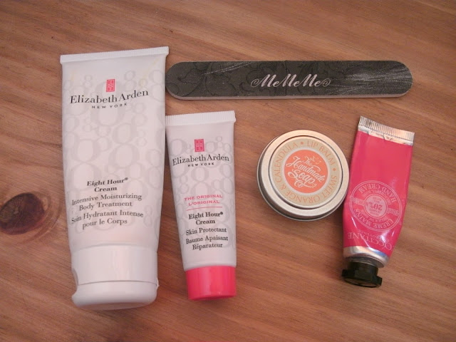 whats in my bag tag handcreams
