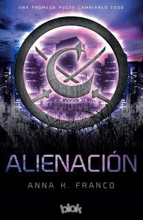 Alienación, de Anna K. Franco