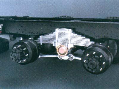 Tipe Suspensi Tractor Head FV