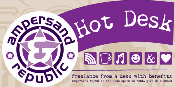 Freelance from a Desk with Benefits - hot desk opportunity for freelancers in Durban at Ampersand Republic