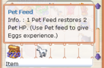 Flyff Pet Feed Bag