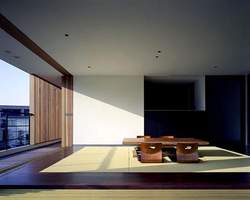 Modern livingroom design for Japanese minimalist house design
