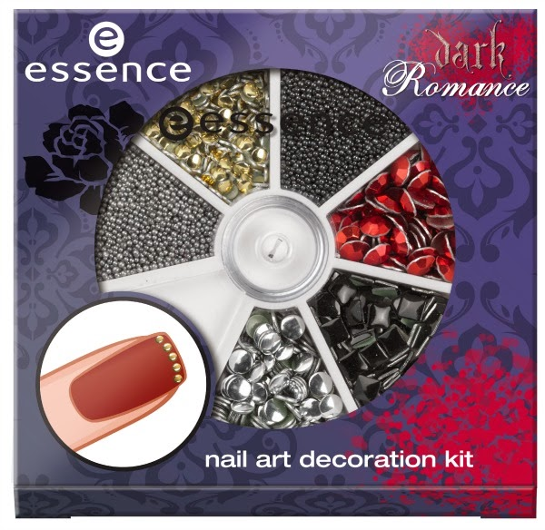 essence dark romance – nail art decoration kit