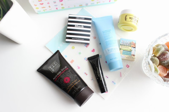 Birchbox UK August 2015 Review Contents