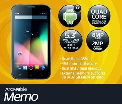 Arc Mobile MEMO
