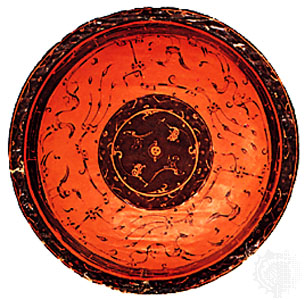 Ancient Chinese lacquer