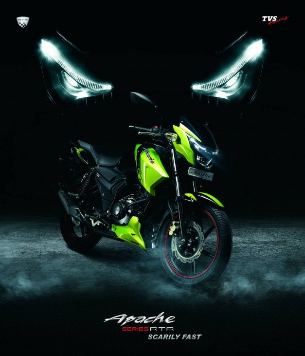 new bike and cars in india new tvs apache 160