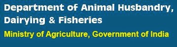 Department of Animal Husbandry, Dairying & Fisheries, Ministry of Agriculture Logo