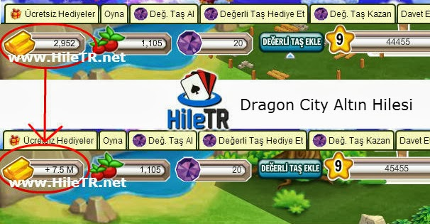 Dragon City Altın Hilesi