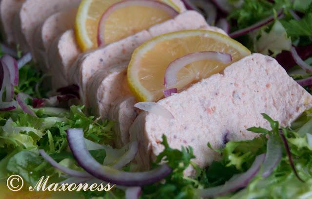 Мусс из копченого лосося. Еврейская кухня