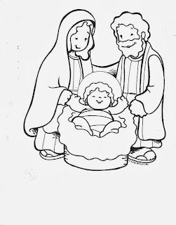 Nacimientos Navideños para Colorear, parte 2