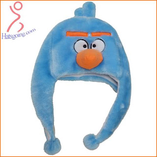 Ice Space Angry Birds Hats