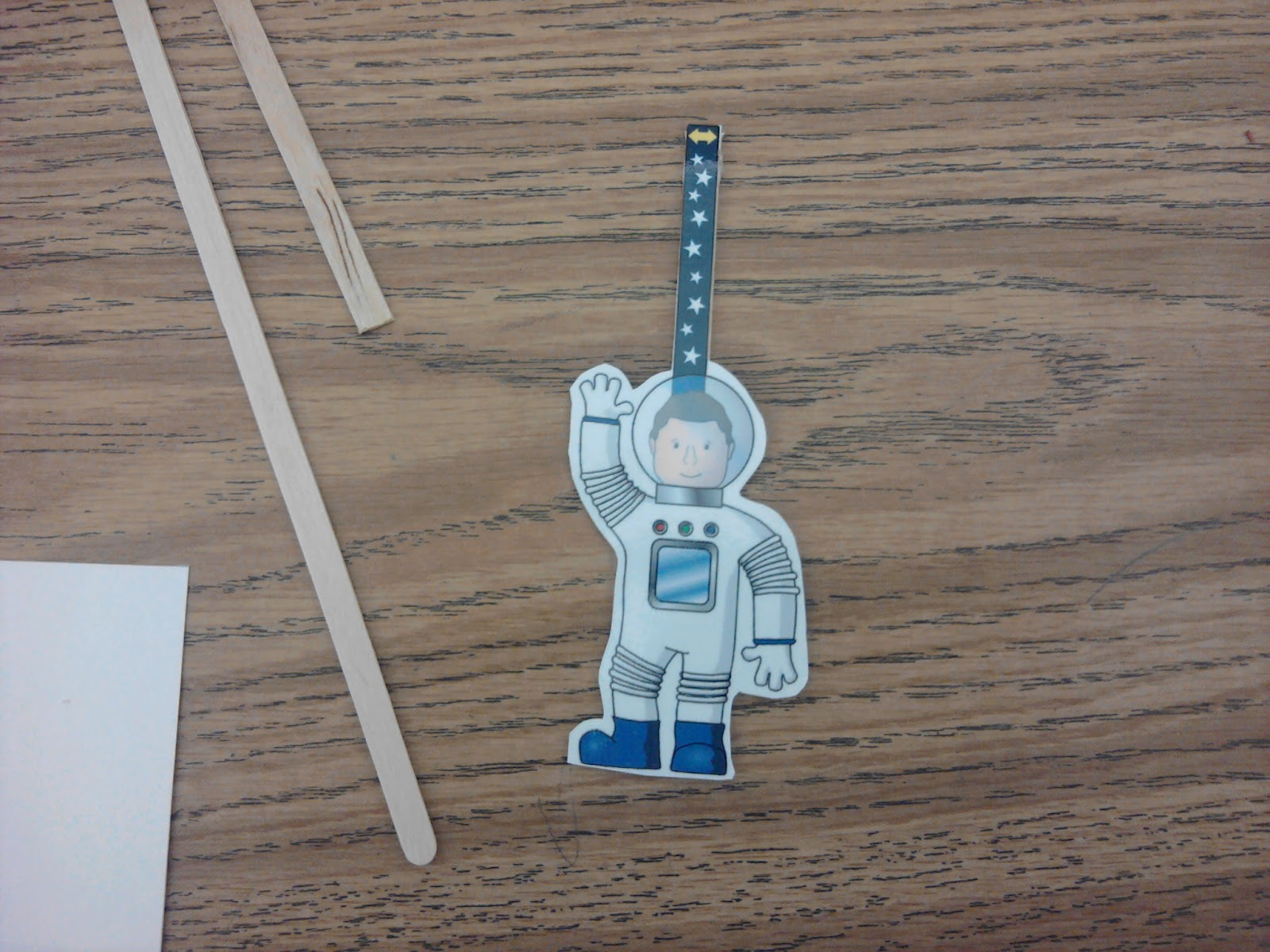 how to make a spaceman