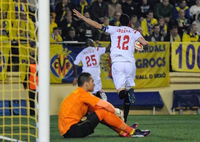 Crónica Villarreal CF 1 Vs Sevilla FC 3