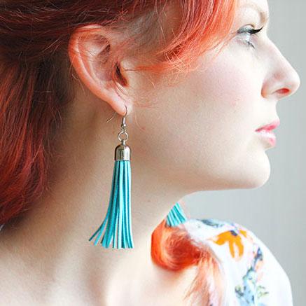 Tassel Earring DIY