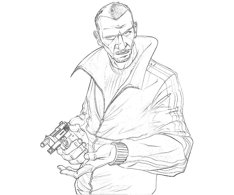 grand-theft-auto-niko-bellic-coloring-pages