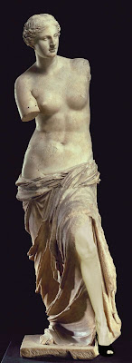 venus de milo with angelina jole's leg
