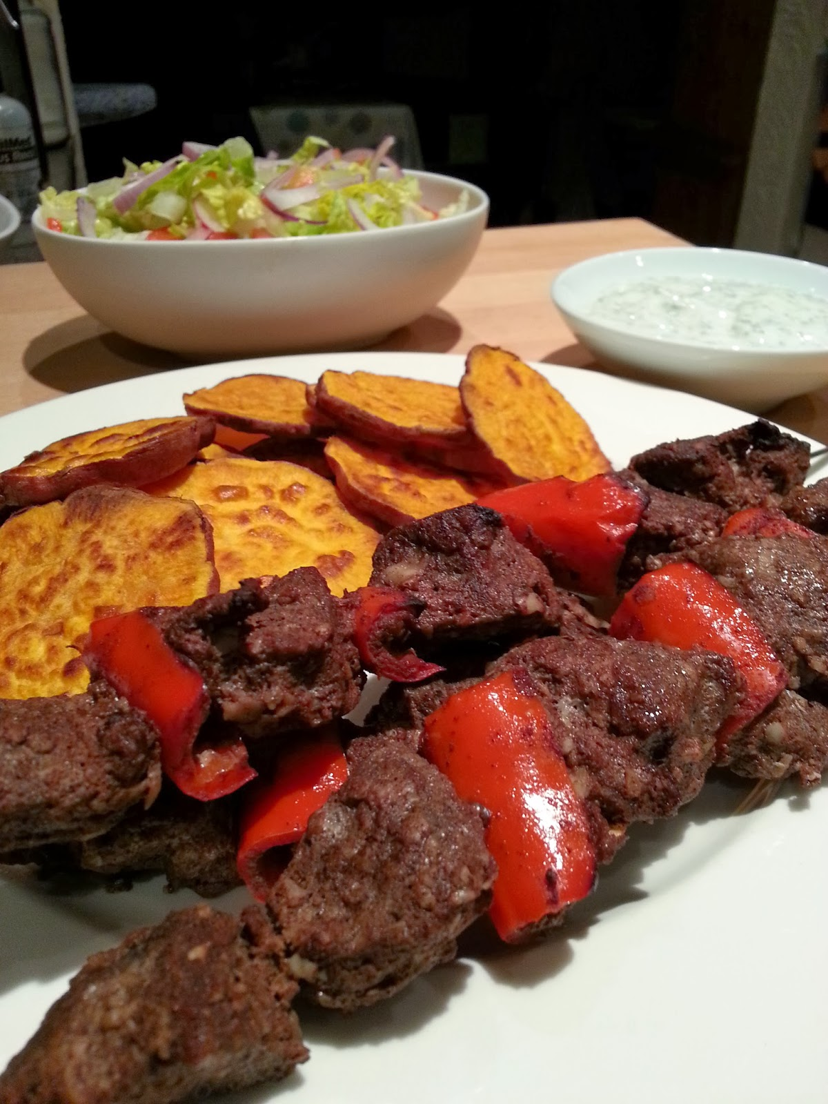 Slimming World Delights Orange And Chilli Lamb Kebabs
