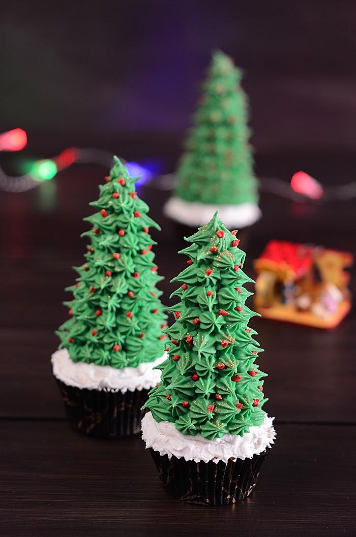 Qu cosa tan dulce cupcake rbol de navidad - Arboles de navidad decorados 2013 ...