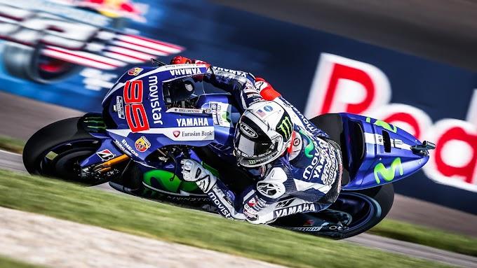 Latihan Bebas 1 dan 2 MotoGP Indianapolis - Jorge Lorenzo Tampil All Out!