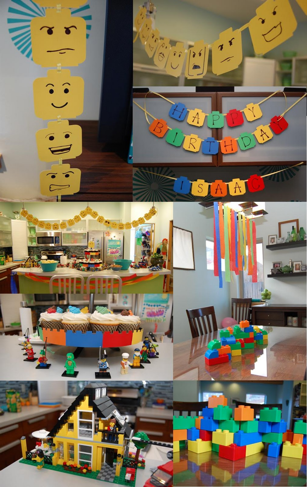 C is for crafty lego birthday party for Decoration lego