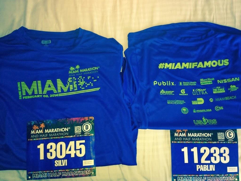 Maratón Miami Remera