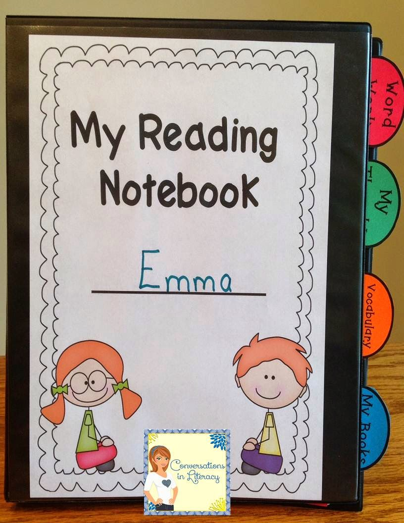 Using an interactive reader's notebook that's different