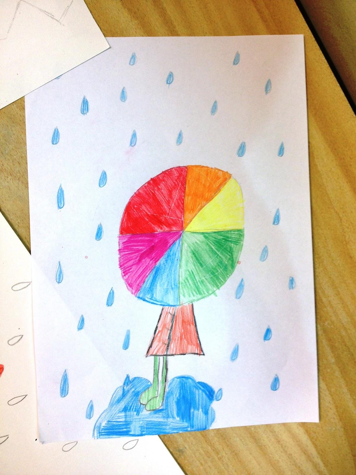 Kunst voor en door kids kleur warm en koud - Kleur warm en koud ...
