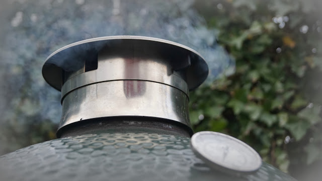 Smokeware eggware stainles steel chimney top vent cap