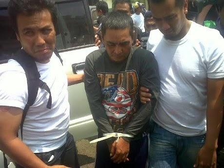Brigadir Eri Muryawan (55 tahun) ditangkap karena mengambil uang Rp 273 juta milik PT Advantage